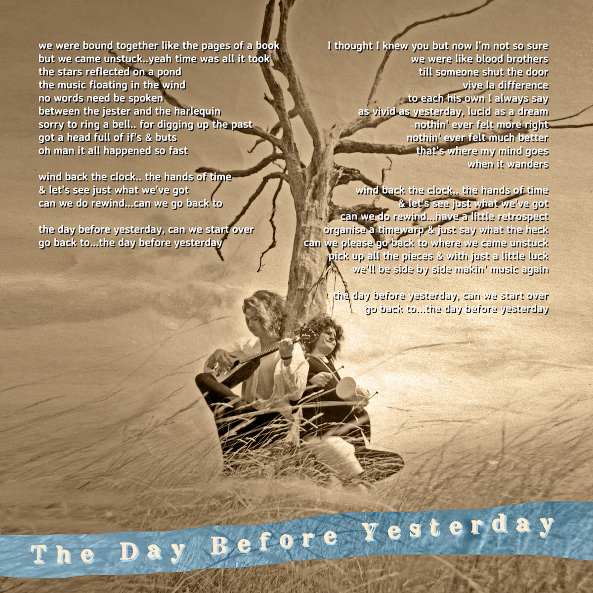 Yesterday Seems To Have Been My Day For >> The Day Before Yesterday Phil Judd