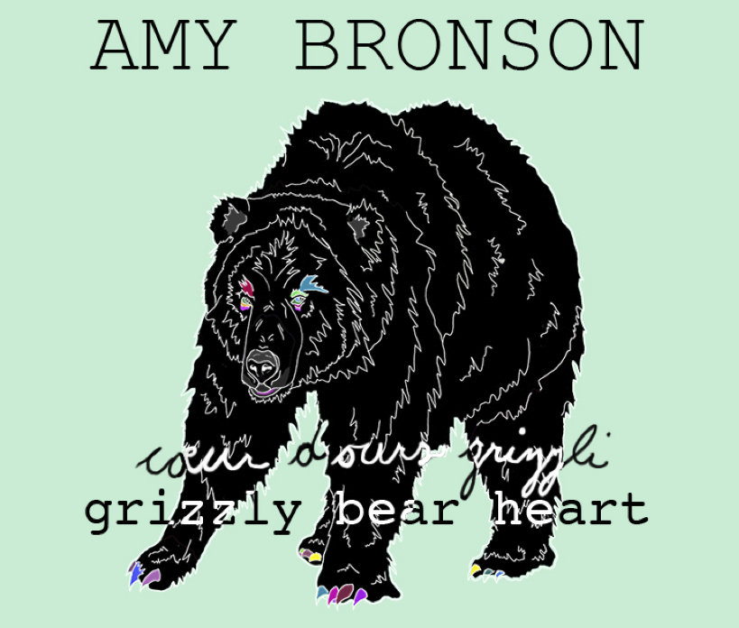 from grizzly bear heart coeur dours grizzli by amy bronson - Ours Coeur