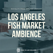 Fish Market Sounds Los Angeles At Night Soundscape cover art