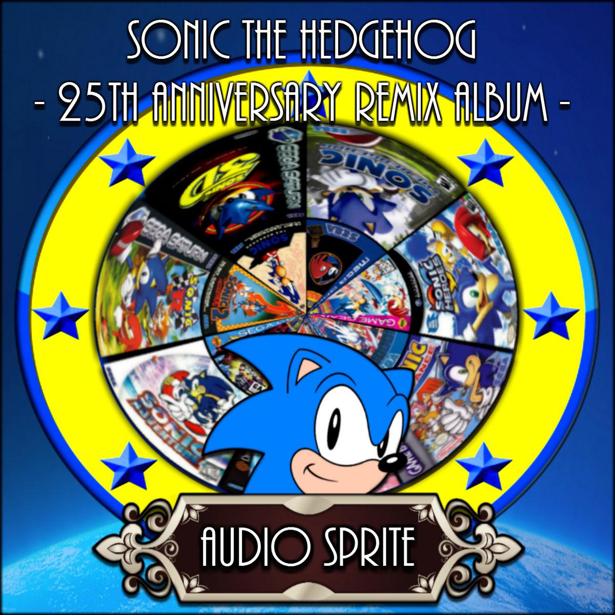 Sonic The Hedgehog 25th Anniversary Remix Album | Audio Sprite