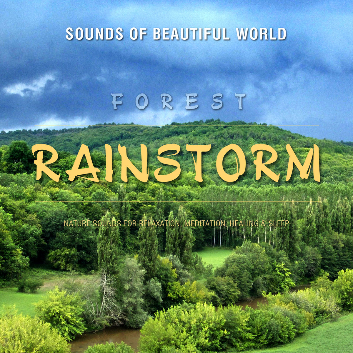 Forest: Rainstorm (Nature Sounds for Relaxation, Meditation, Healing
