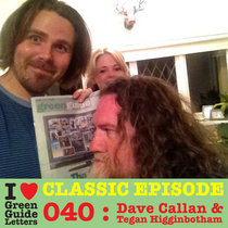 Ep 040 : Dave Callan & Tegan Higginbotham love the 20/09/12 Letters cover art