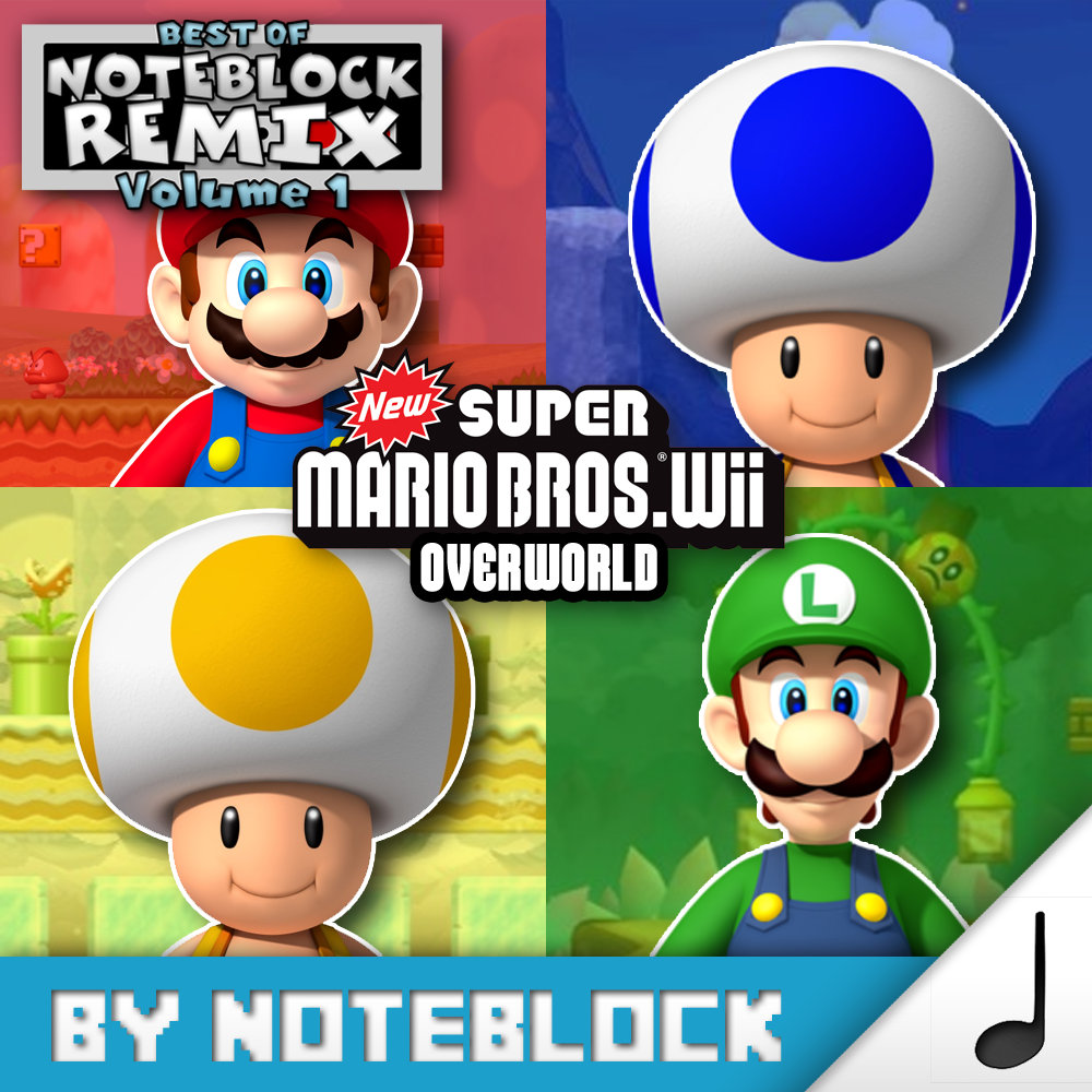 Overworld - New Super Mario Bros Wii | NoteBlock