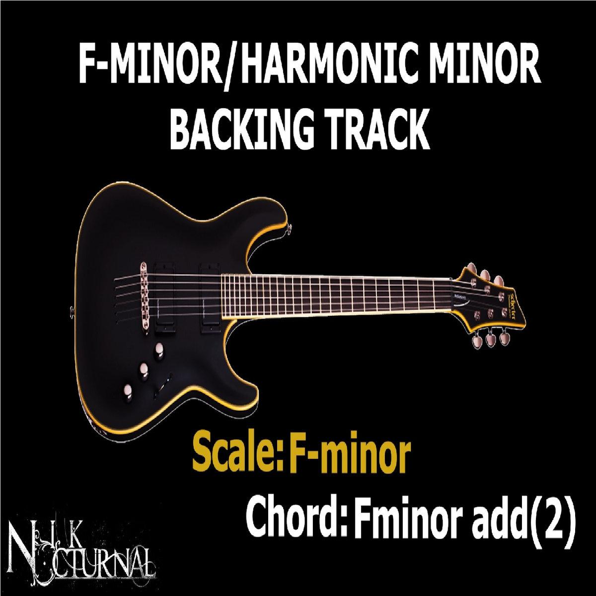F Minorharmonic Minor Backing Track Melodic Metaljazz 105 Bpm