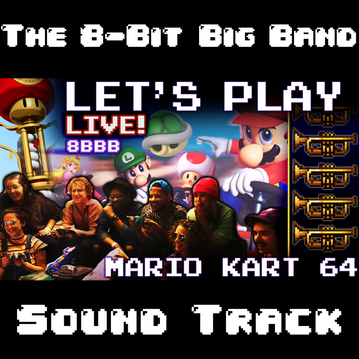 Let's Play Live! Ep 2 - Mario Kart 64 Soundtrack from YouTube Video