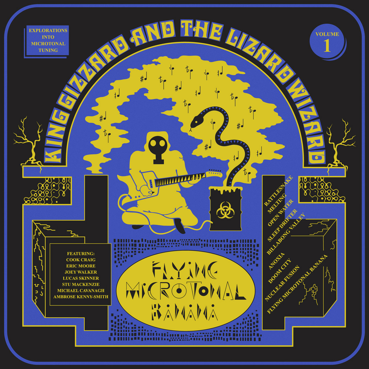 Image result for album art King Gizzard & the Lizard Wizard: Flying Microtonal Banana