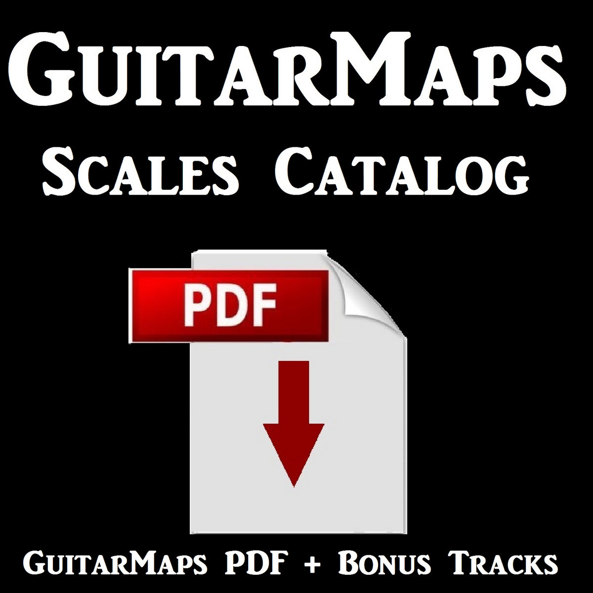 Guitar Maps Scales PDF Download Only | Superior Jam Tracks