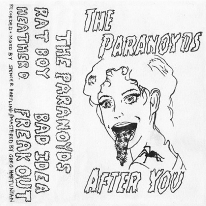 After You Ep The Paranoyds