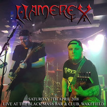 Live at the Black Mass Bar & Club, Wakefield (7th April 2018) cover art