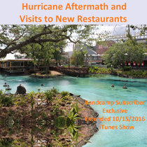 Hurricane Aftermath and Visits to New Restaurants cover art
