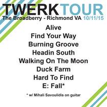 LIVE @ The Broadberry - Richmond, VA 10.11.15 cover art