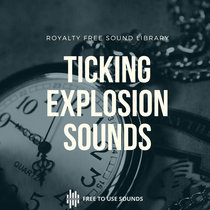 60 Seconds Clock Ticking Timer Sound Effects With Explosion cover art
