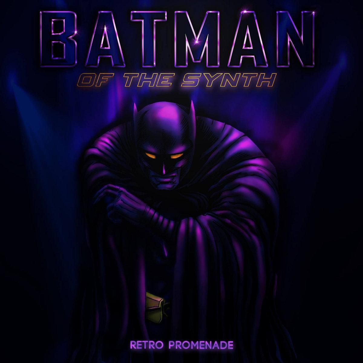 Batman Of The Synth Retro Promenade