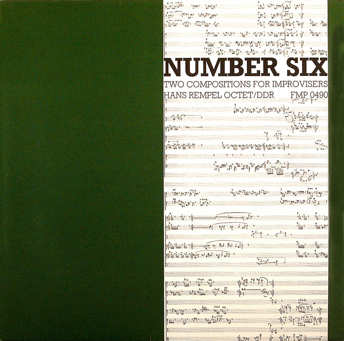 Hans Rempel Octet Number Six Two Compositions For Improvisers
