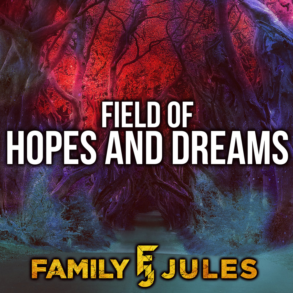 Field Of Hopes And Dreams From Deltarune Metal Version