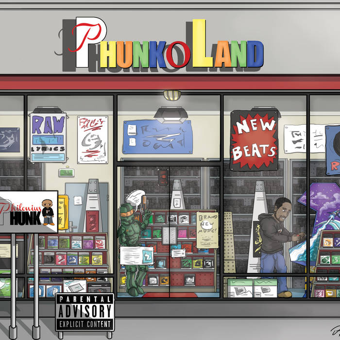 PhunkoLand cover art