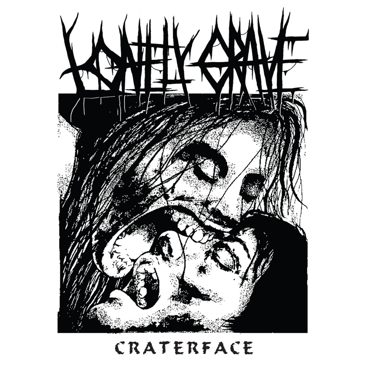 Lonely Grave - Craterface [EP] (2018)
