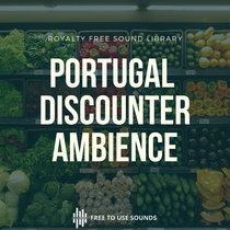 Discounter Ambience Portuguese Walla Cash Register Beeping Sounds cover art