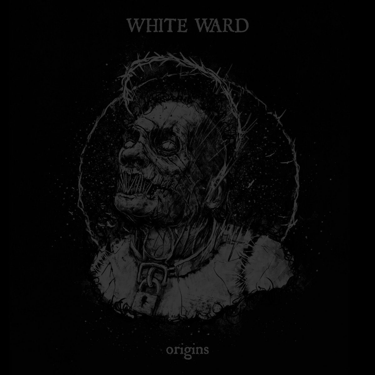 WHITE WARD AVANT GARDE BM LE SCRIBE