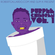 Purple Children Vol 1 cover art