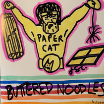 PAPER CAT—Buttered Noodles cover art