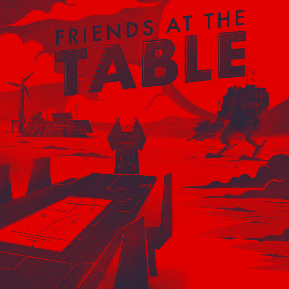 Friends at the Table Cover Art