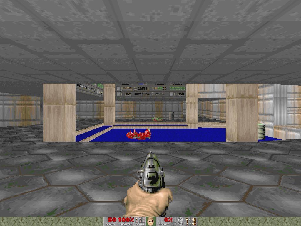EGT - Doom E1M1 (Hangar) | elguitarTom