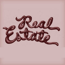 REAL ESTATE - live at garfield artworks cover art