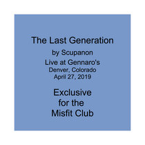 The Last Generation - Live at Gennaro's cover art