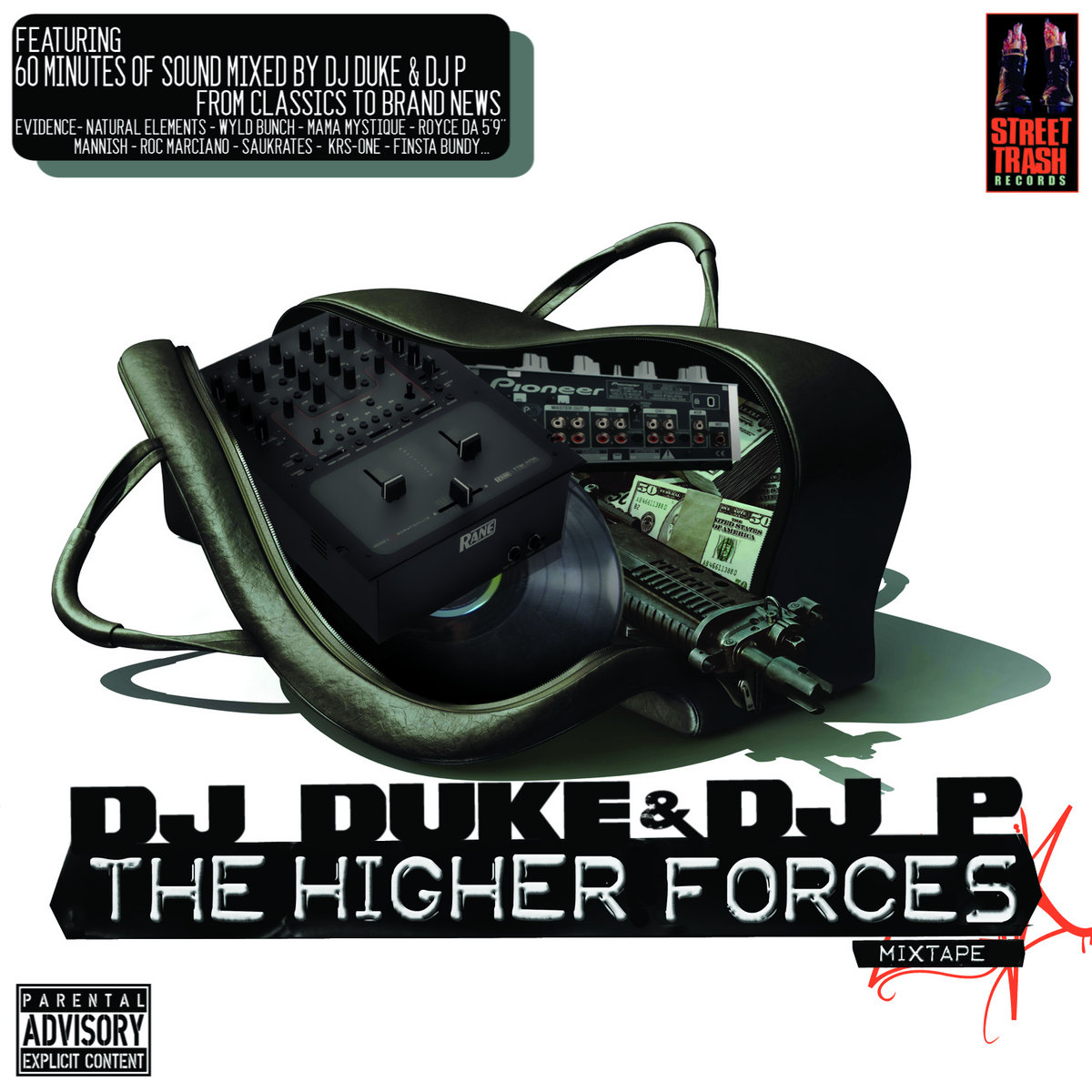 DJ Duke & DJ P - The Higher Forces Mixtape | DJ DUKE