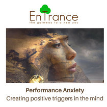 Performance Anxiety - Creating positive triggers in the mind cover art
