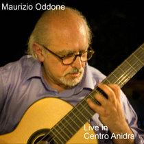 """Maurizio Oddone - Live In """"Centro Anidra"""" cover art"""
