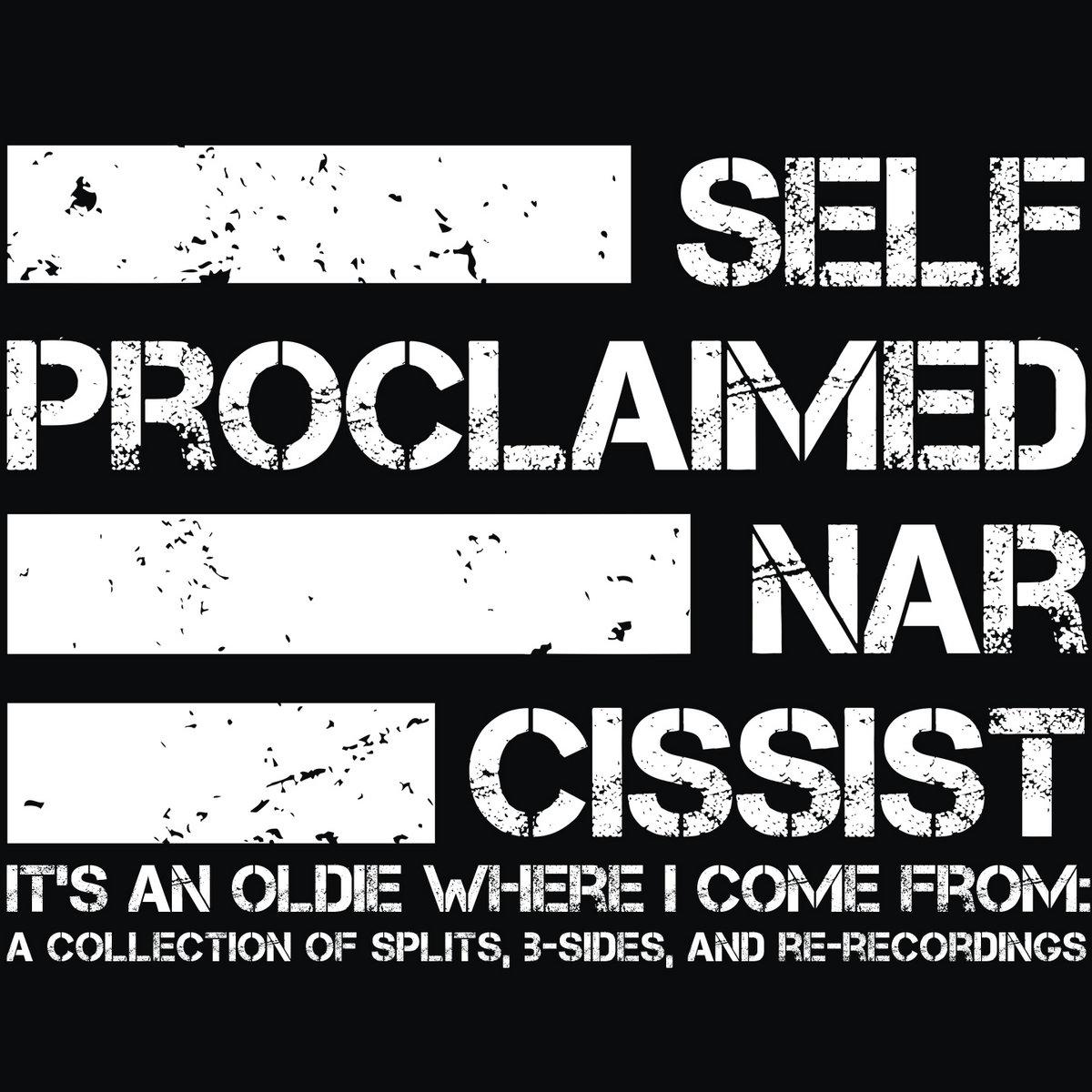 I am a narcissist
