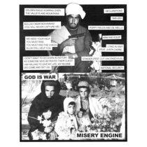 God Is War / Misery Engine cover art