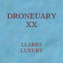 Droneuary XX - Luxury cover art