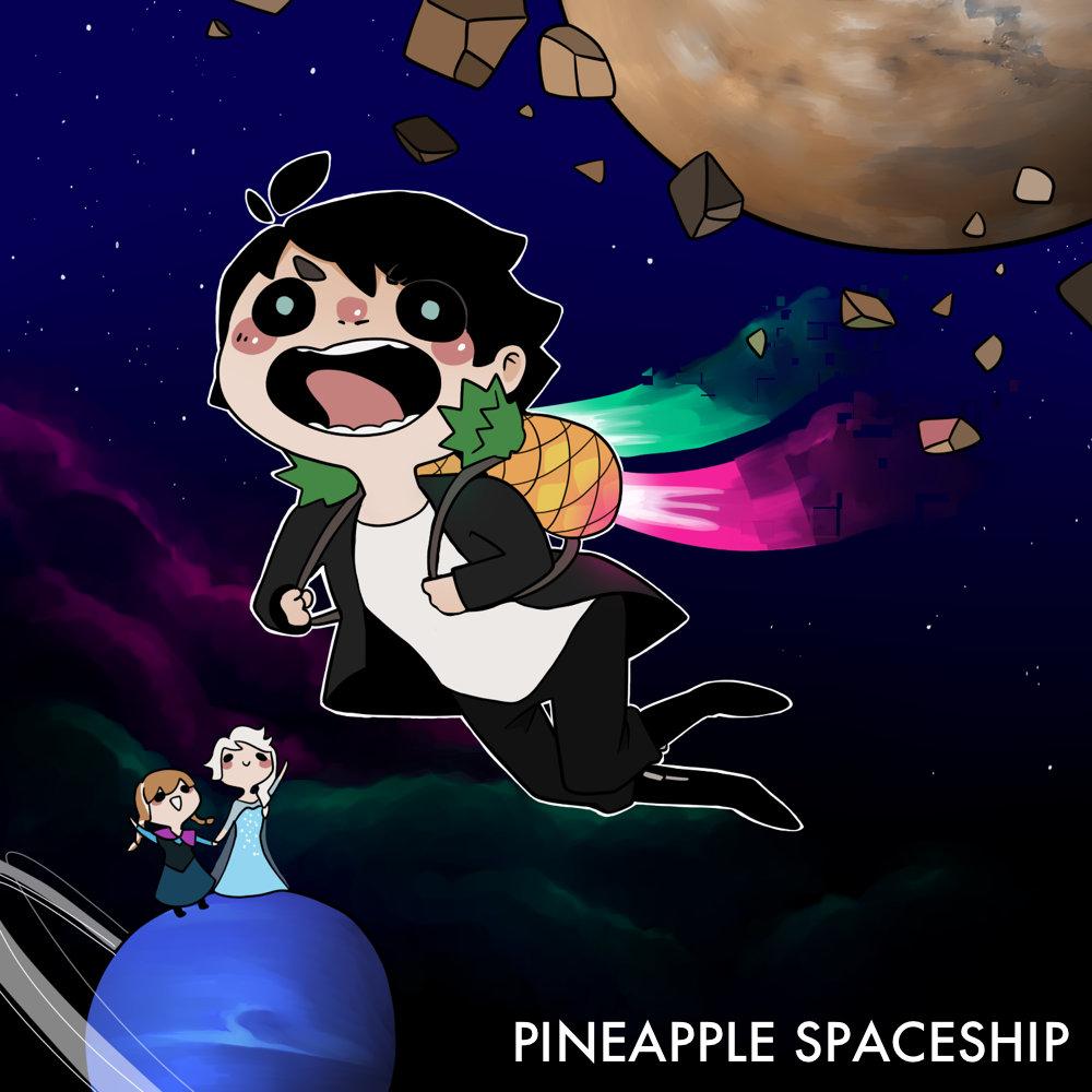 pineapple spaceship nanobii