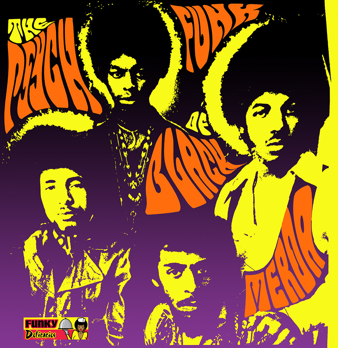 Psych Funk Of Black Merda Tuff City Records