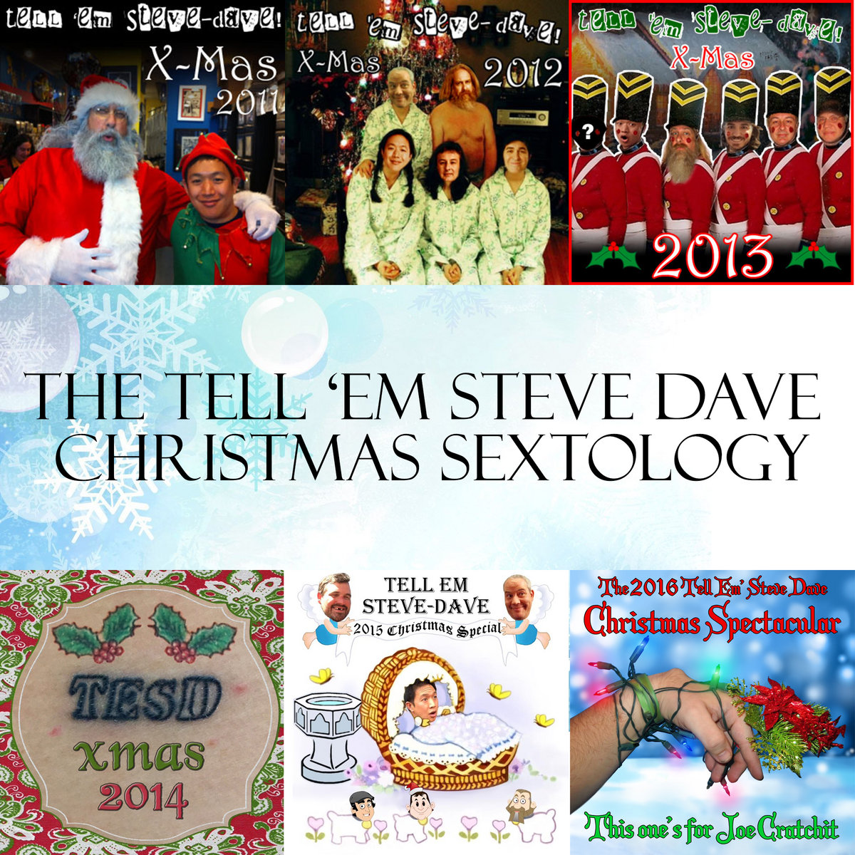 Tesd Christmas 2019 The TESD Christmas Sextology   Tell 'em Steve Dave