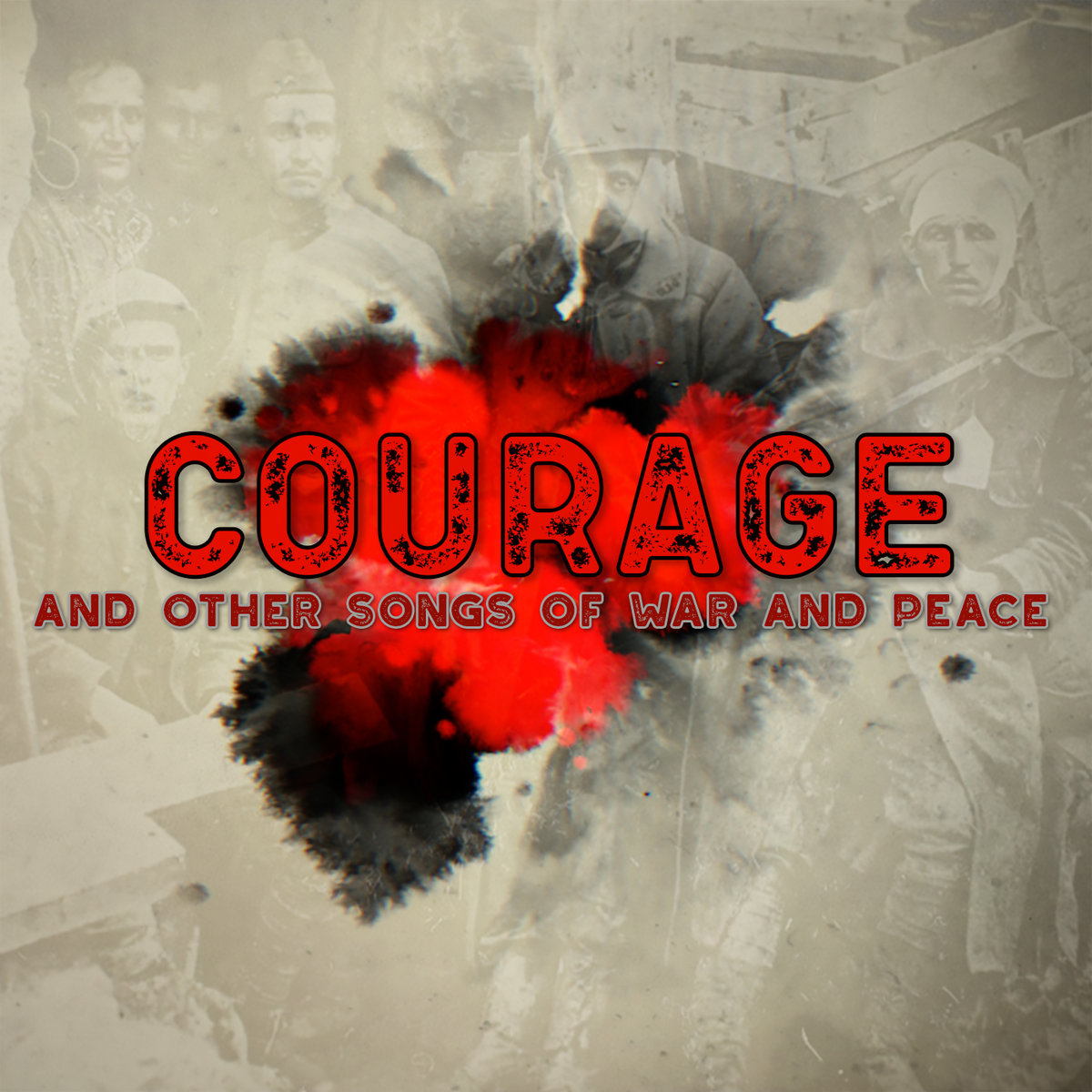 COURAGE - AND OTHER SONGS OF WAR AND PEACE | Pallas