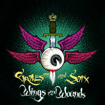 WINGS AND WOUNDS ep cover art