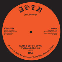 BAB - Party & Get On Down cover art