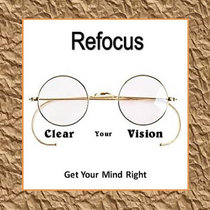Refocus cover art