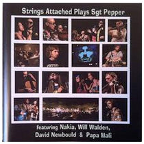 Strings Attached Plays Sgt. Pepper cover art