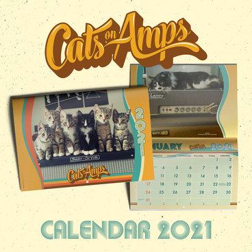 Cats on Amps 2021 Calendar + MER Sampler main photo