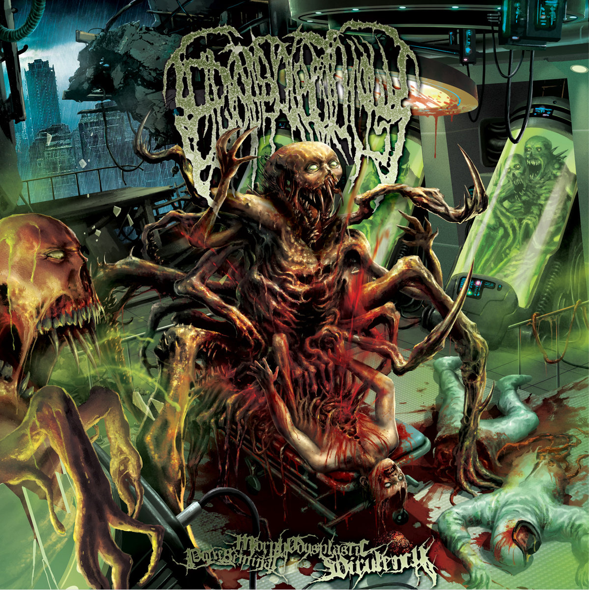 epicardiectomy abhorrent stench of posthumous gastro rectal desecration