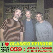 Ep 039 : Anthony Jeselnik & Bart Freebairn love the 06/09/12 Letters cover art