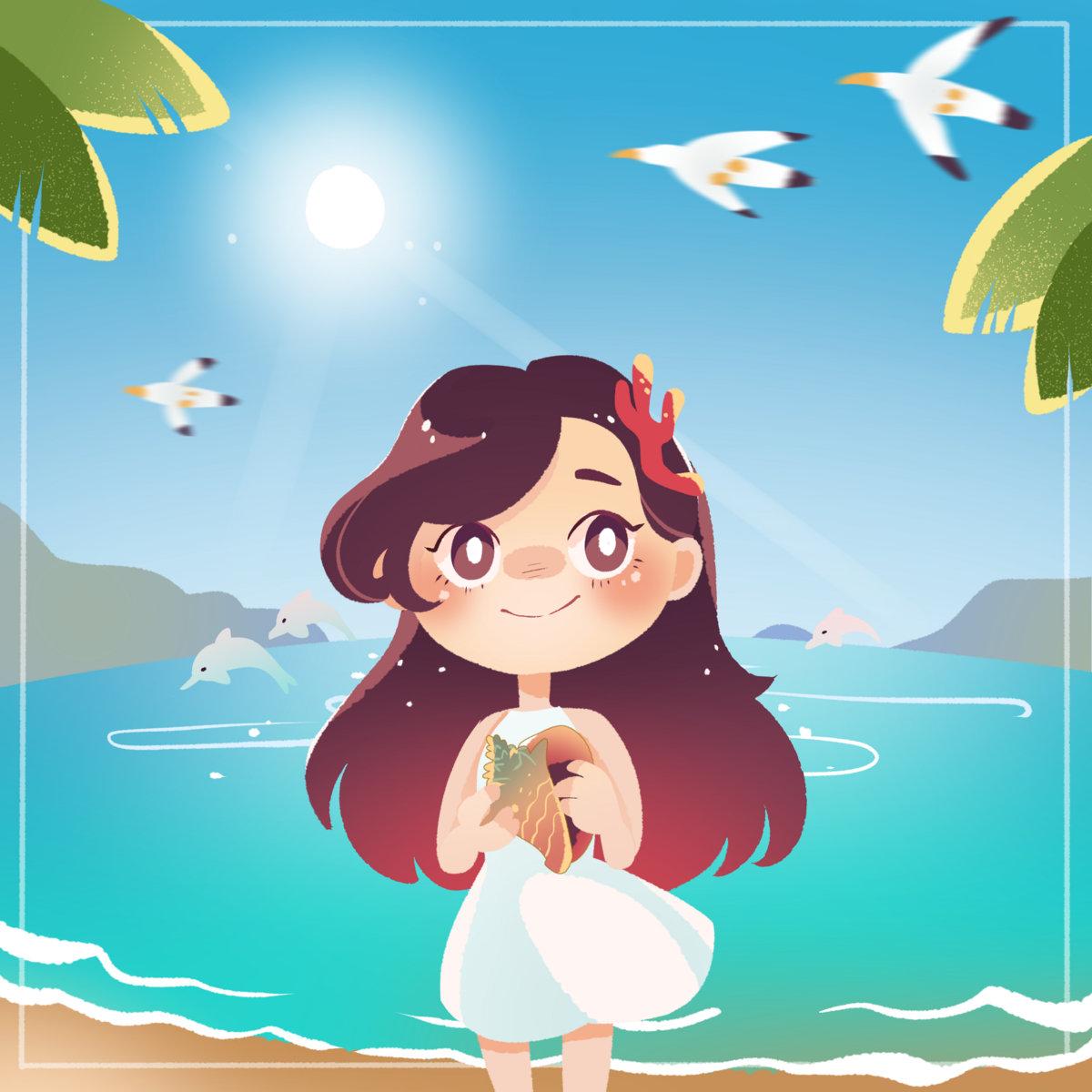 Animated Pictures Of Seashells sherbet seashells | milkcubb