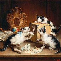Playful Kittens cover art