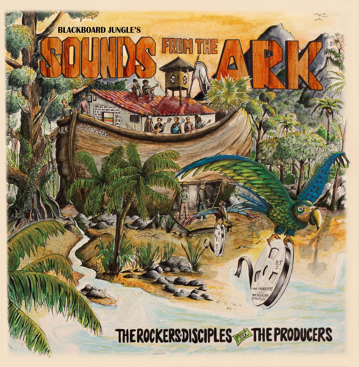 Rockers Disciples meet The Producers - Sounds from the ark