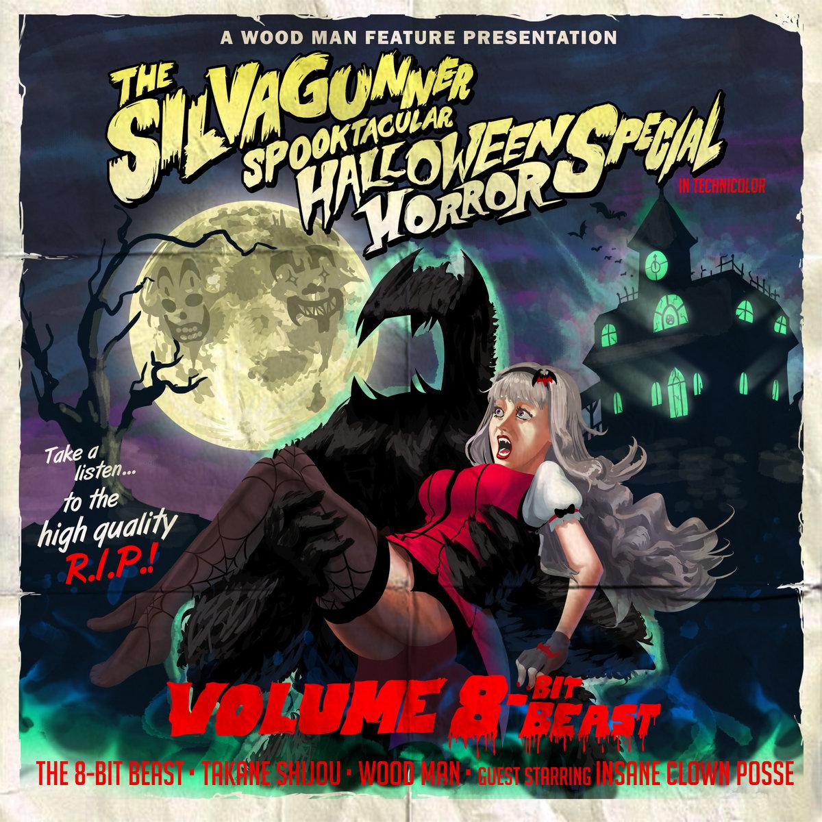 the silvagunner spooktacular halloween horror special: volume 8-bit